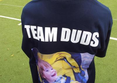 Team Duds Sponsored Football Match