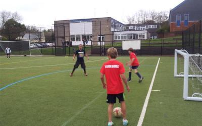 Team Duds Sponsored Football Match