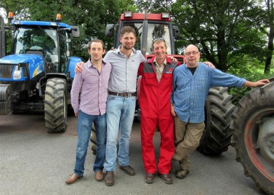 Dudleys convoy drivers, Johnny, Todd, Paul & Chip 22nd August 2015