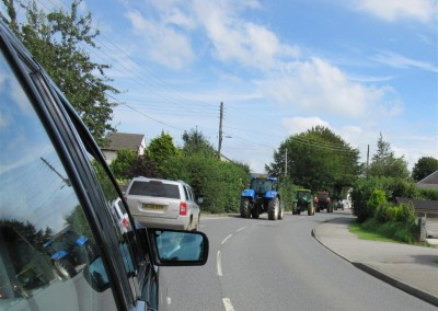 Dudleys final tractors convoy, Halwill Junction 22nd August 2015
