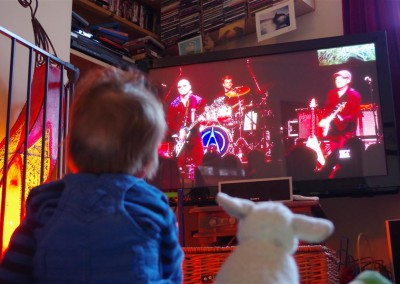 Watching Wishbone Ash with Sheep March 2014